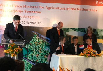 The Netherlands Agro Mission to Vietnam 20 March 2017 in Ho Chi Minh City, Vietnam.