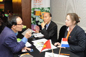 The Vietnamese - Netherlands Match making evenement took place on 22 March 2017 in Hanoi, Vietnam