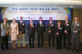 BThe Korea-Netherlands Joint Seminar on Bio-Based Economy took place on 3 September 2013 in Seoul, Korea.